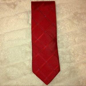 NWOT Silk Red Nautica Tie